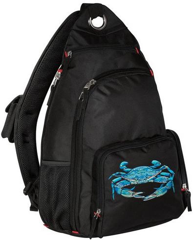 blue crab backpack