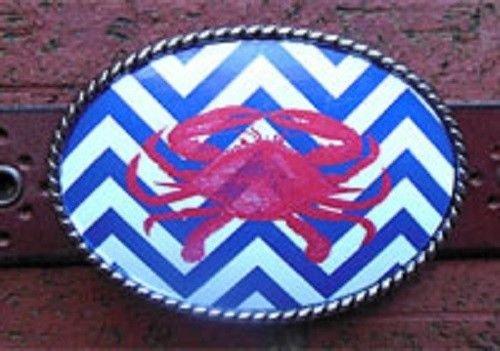 crab belt buckle