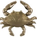 blue crab door knocker for beach house