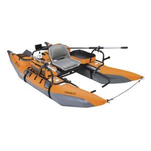 inflatable pontoon boat