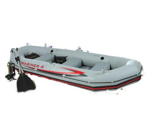 intex 4 person mariner boat set