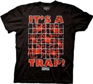 its a trap crab t shirt