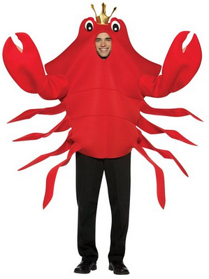 rasta imposta king crab costume