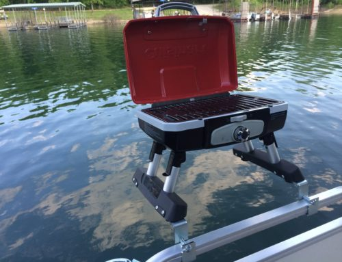 Pontoon Boat Grill & Bracket Set