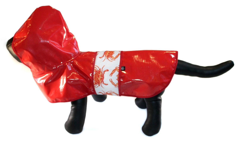 puppy crab raincoat