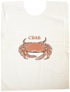 500 adult crab bibs