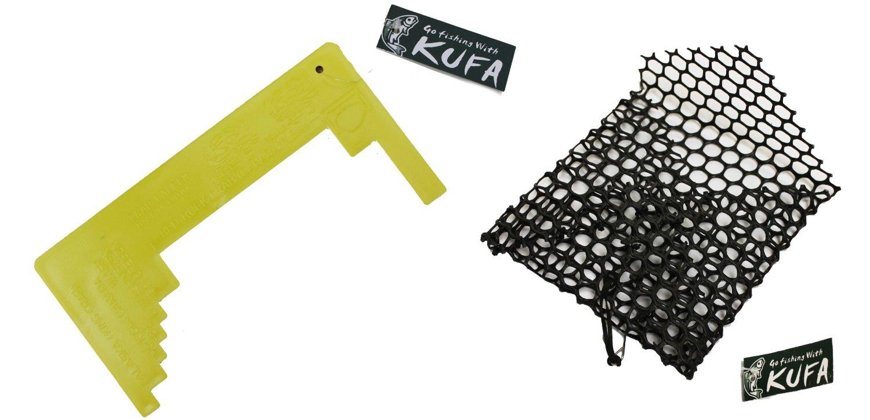 KUFA bait bag and crab caliper