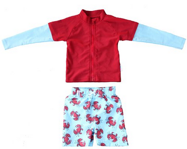crabby pants UV suit