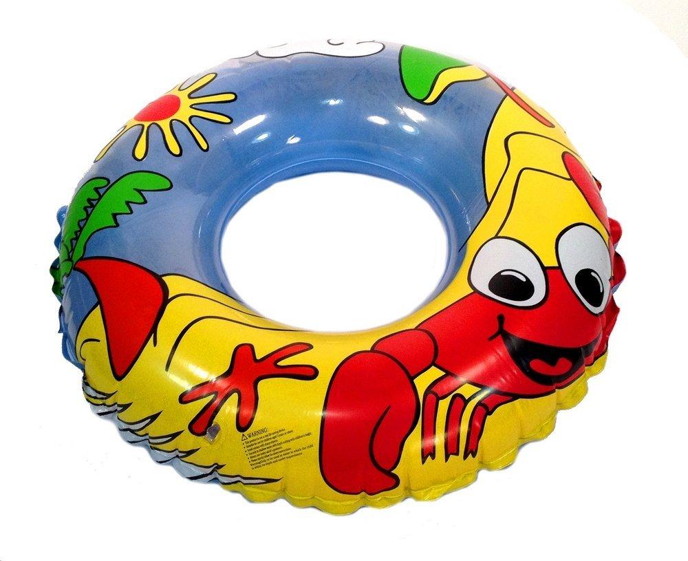 inflatable crab swim tube