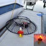 led flashing crab buoy