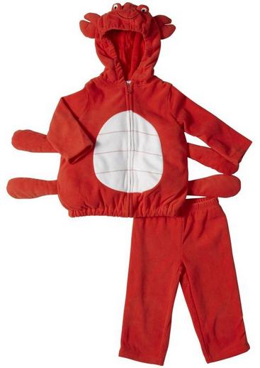 baby boy crab costume