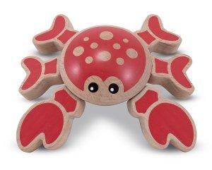 melissa and doug crab toy