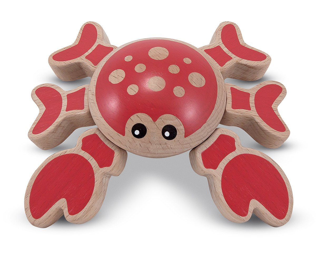 melissa and doug crab toy
