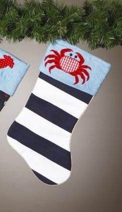 crab christmas stocking