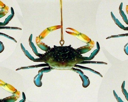 maryland crab christmas ornament